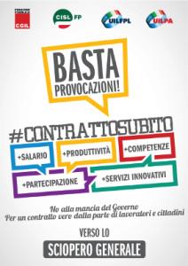 Anche il Salento si mobilita contro le scelte del Governo. Il piano di assemblee unitarie sui posti di lavoro.