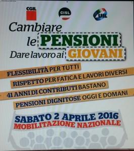 Anche a Lecce giornata di mobilitazione unitaria il 2 aprile 2016 per cambiare le pensioni