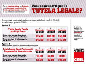 Le nuove convenzioni assicurative per gli iscritti alla FP CGIL Lecce