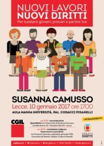 Susanna Camusso a Lecce
