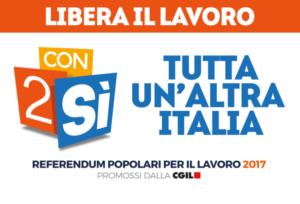 """Referendum – """"Libera il lavoro #con2si"""""""