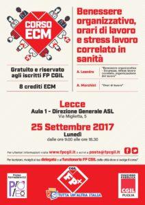 Corso ECM gratuito e riservato iscritti FP 25/09/17