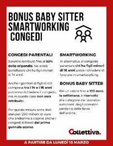 Mezza Italia in lockdown in arrivo congedi smart working e bonus baby sitter